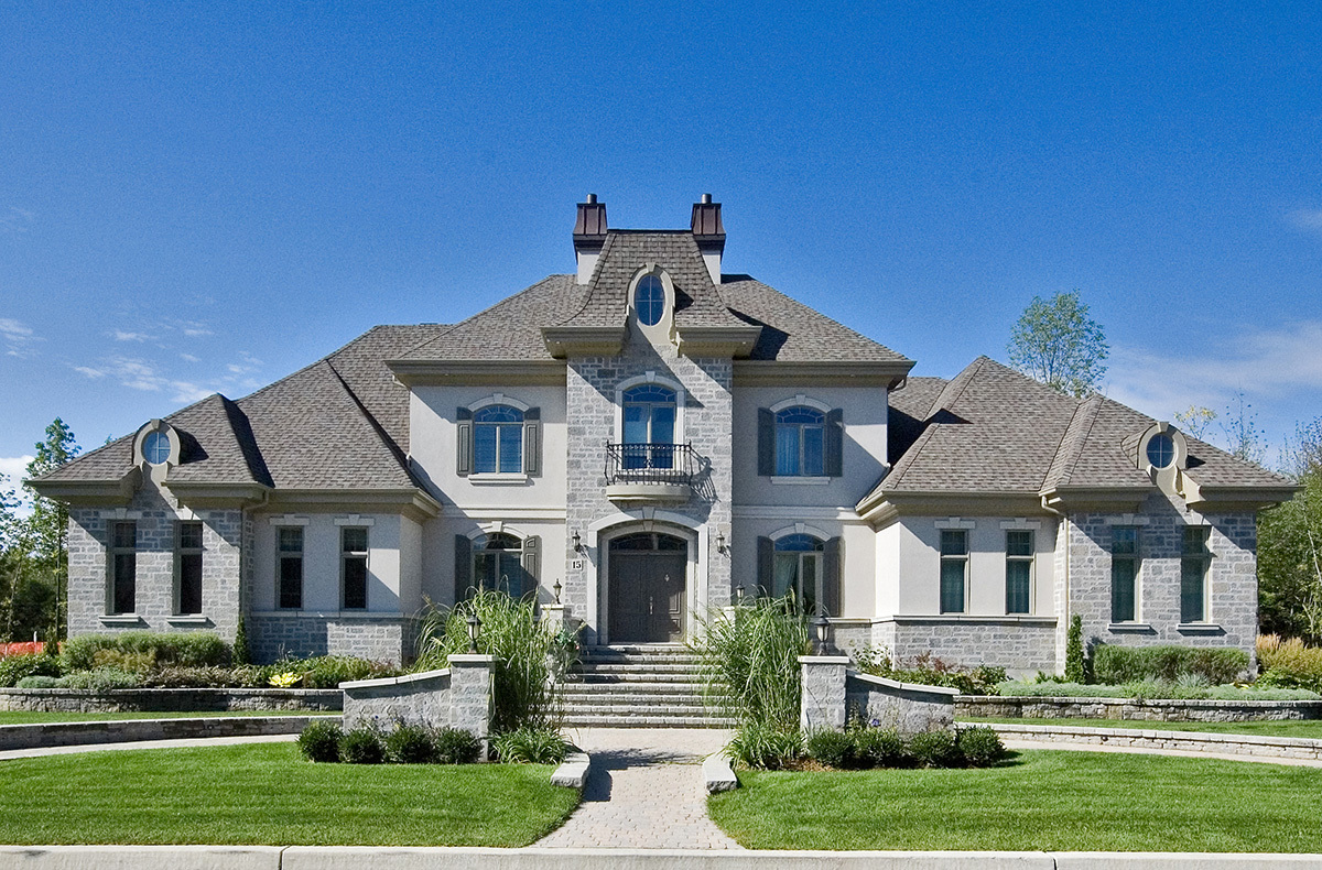 Stunning european manor 90095pd architectural designs for European home designs llc