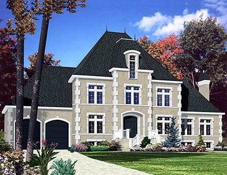 Stately Home Plan 90097pd Architectural Designs