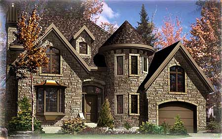 European Stone Castle 90125pd European Traditional