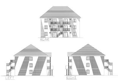 Six plex multi family house plan 90153pd architectural for 6 plex floor plans
