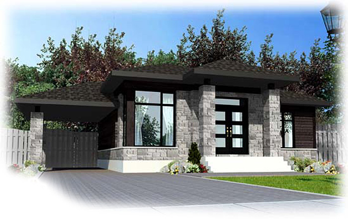 small modern house plans one level contemporary home plan 90236pd architectural 31350
