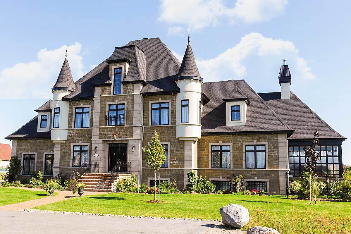 4 bed french chateau house plan 9025pd architectural for Chateau house designs