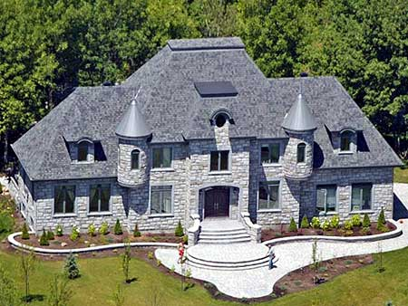 4 bed french chateau house plan 9025pd architectural for Chateau home designs