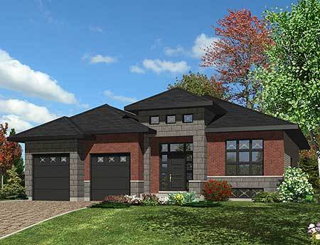Compact Northwest Home Plan 90251pd Architectural