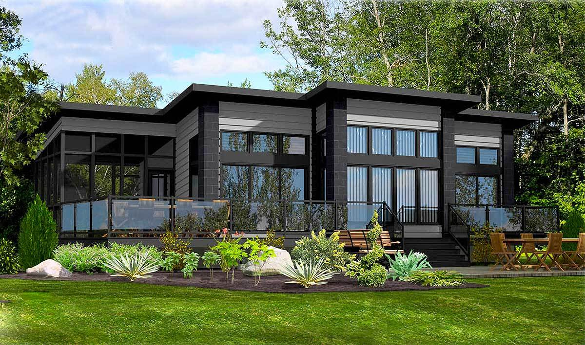 Contemporary retreat 90271pd architectural designs for Retreat house plans