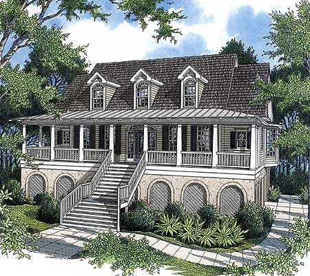 Decks And Porches For Your Low Country Home 9115gu