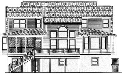 Decks and Porches for your Low Country Home - 9115GU thumb - 02