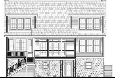 Low Country House Plan with Elevator - 9140GU thumb - 09