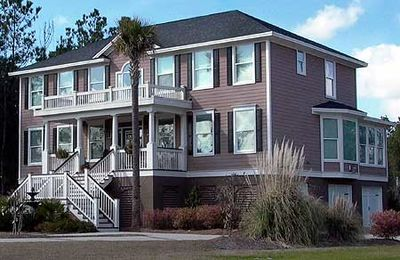 Spacious Low Country House Plan - 9194GU thumb - 01