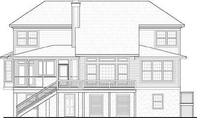 Spacious Low Country House Plan - 9194GU thumb - 02