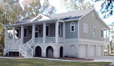 One Level Low Country Home Plan - 9199GU | Architectural Designs ...