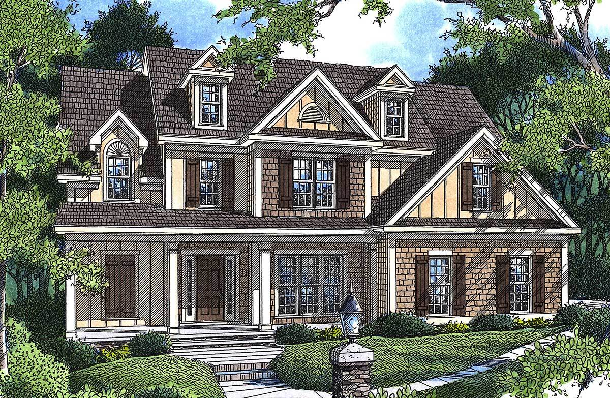 Charming cottage 92003vs architectural designs house for Charming house plans