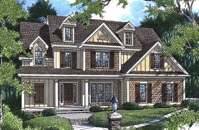 Charming cottage 92003vs architectural designs house for Charming cottage house plans