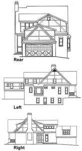 Cabin Ideas additionally Modern House Plans Under 1000 Sq Ft also House Plans Luxury Bungalow 3 Bedroom 1 Story 2500 Sf in addition House Plans For Narrow Lots With Rear Garage together with X Tiny House Xh Sq Ft Excellent Floor Plans. on 2500 sq ft floor plan