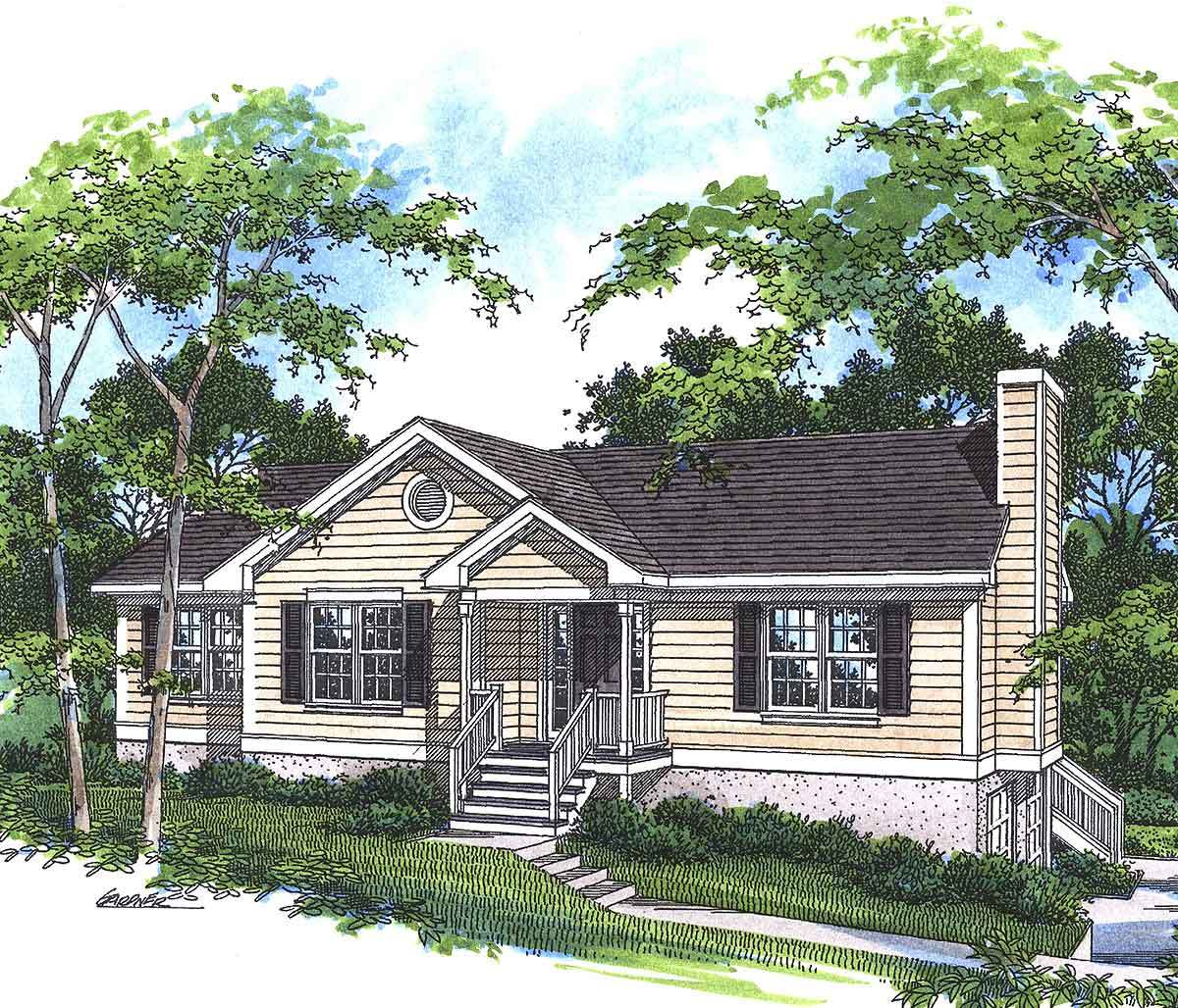 The perfect little ranch 92021vs architectural designs for The perfect house plan