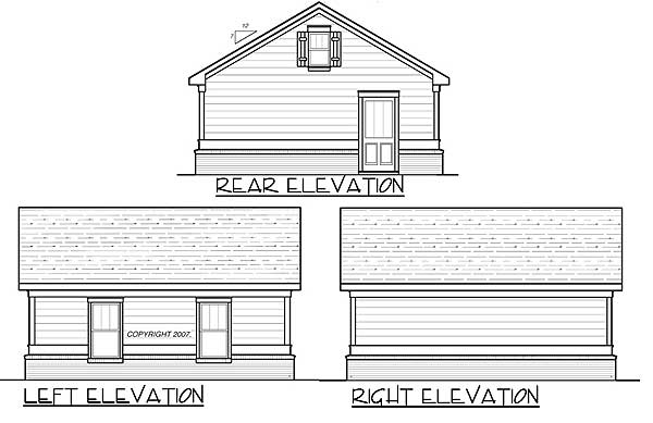 Simple two car garage 92048vs pdf architectural designs for Simple 2 car garage plans