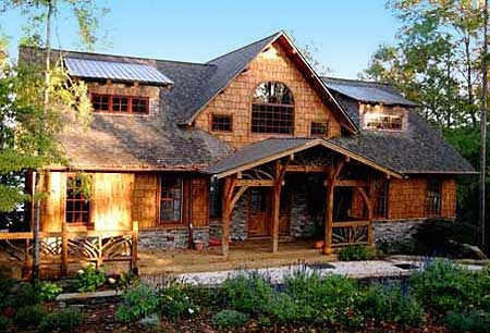 Stunning rustic home plan 92300mx 1st floor master for Canadian country house plans