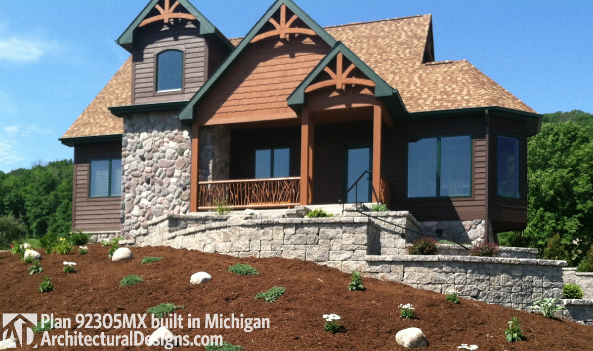 House Plan 92305MX comes to life in Michigan - photo 001