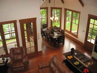 Mountain Home with Vaulted Ceilings - 92305MX thumb - 09