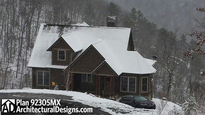 House Plan 92305MX comes to life in North Carolina - photo 005