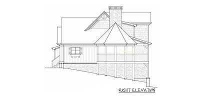 Mountain Home Plan - 92306MX thumb - 09