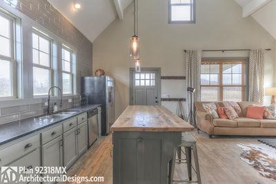 3 Bedroom Dog Trot House Plan - 92318MX thumb - 19