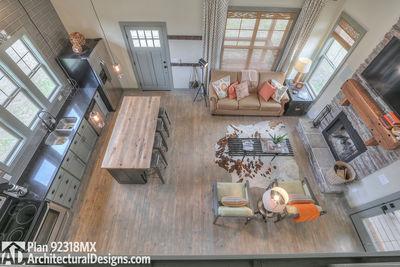 3 Bedroom Dog Trot House Plan - 92318MX thumb - 21