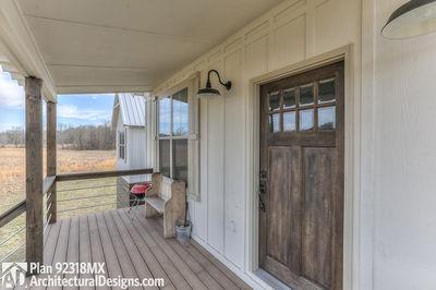 3 Bedroom Dog Trot House Plan - 92318MX thumb - 22