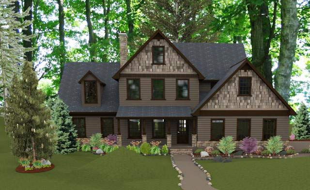 Comfortable family home plan 92329mx 1st floor master for Cottage house plans with photos