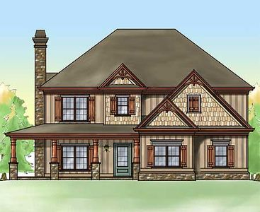 Rustic Home With Wrap Around Porch 92333mx 2nd Floor