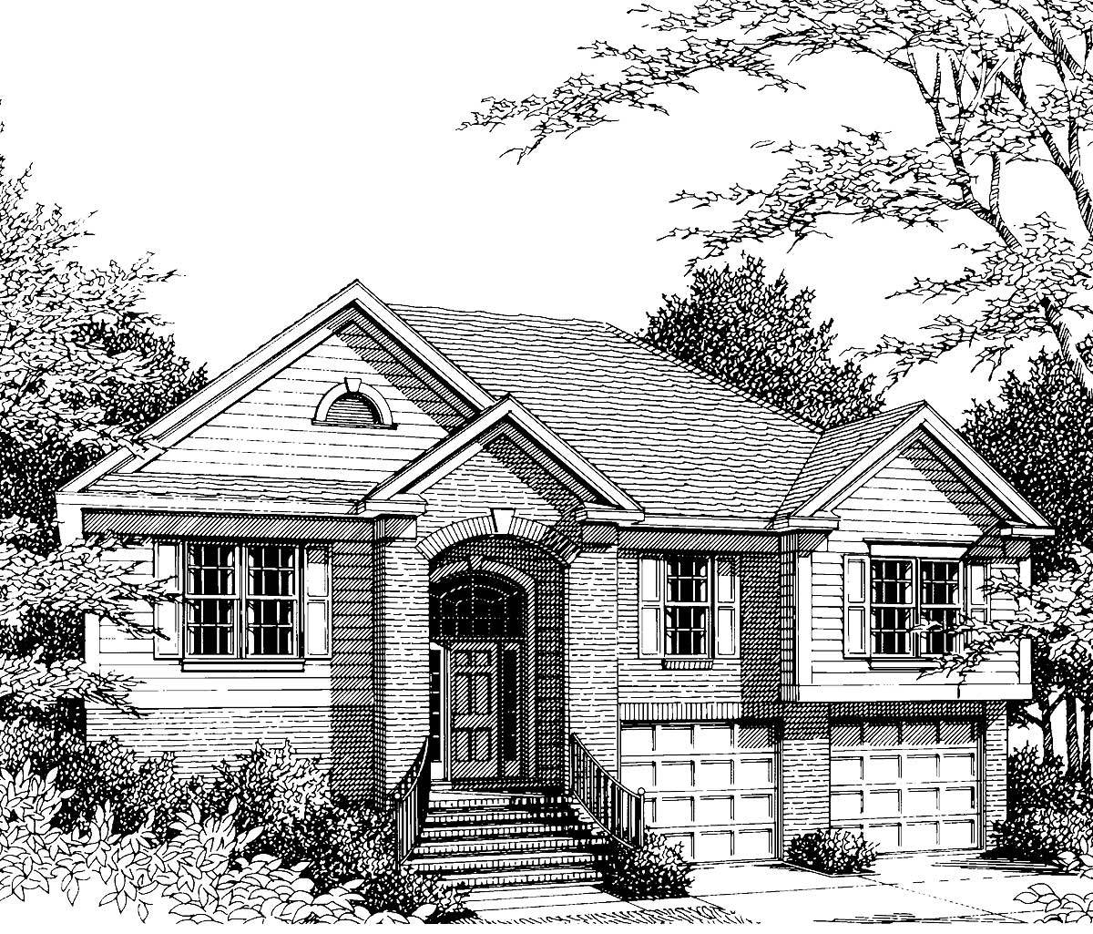 Large Split Foyer House Plans : Split foyer design vs st floor master suite