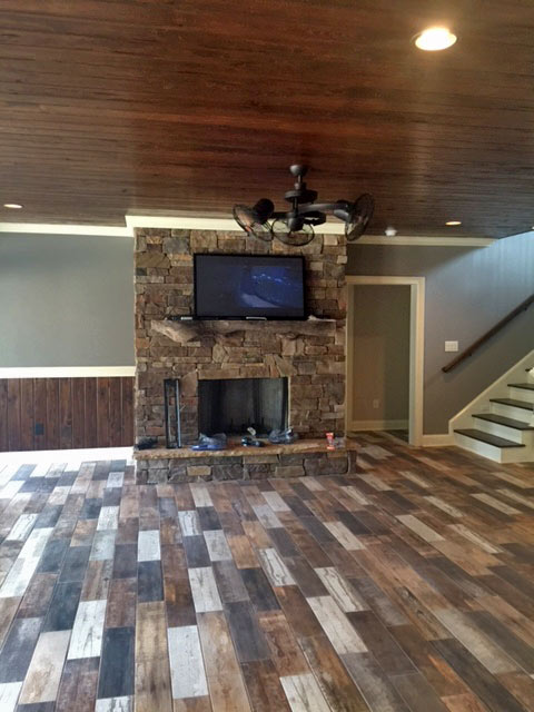 Architectural designs for Finished walkout basement ideas