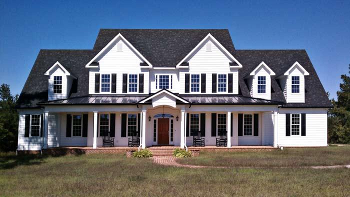 Elegant farmhouse home plan 92355mx architectural for Elegant country homes