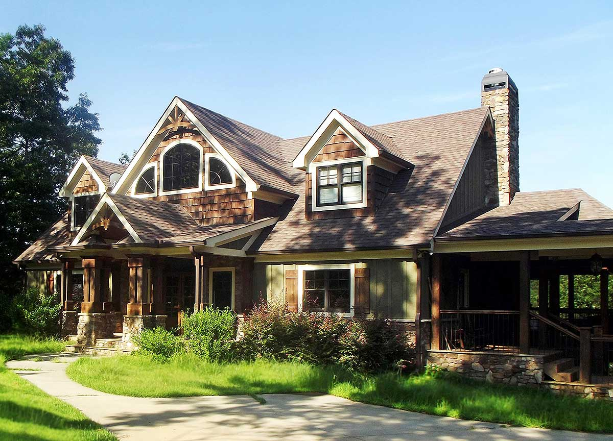 Exclusive mountain craftsman 92368mx architectural for Architectural design mountain home plans