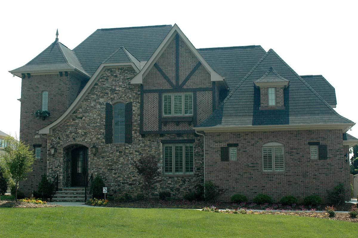 English manor with 3 to 4 beds 93015el architectural for Manor house plans