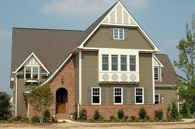 Nantucket Style Manor House Plan - 9310EL thumb - 01