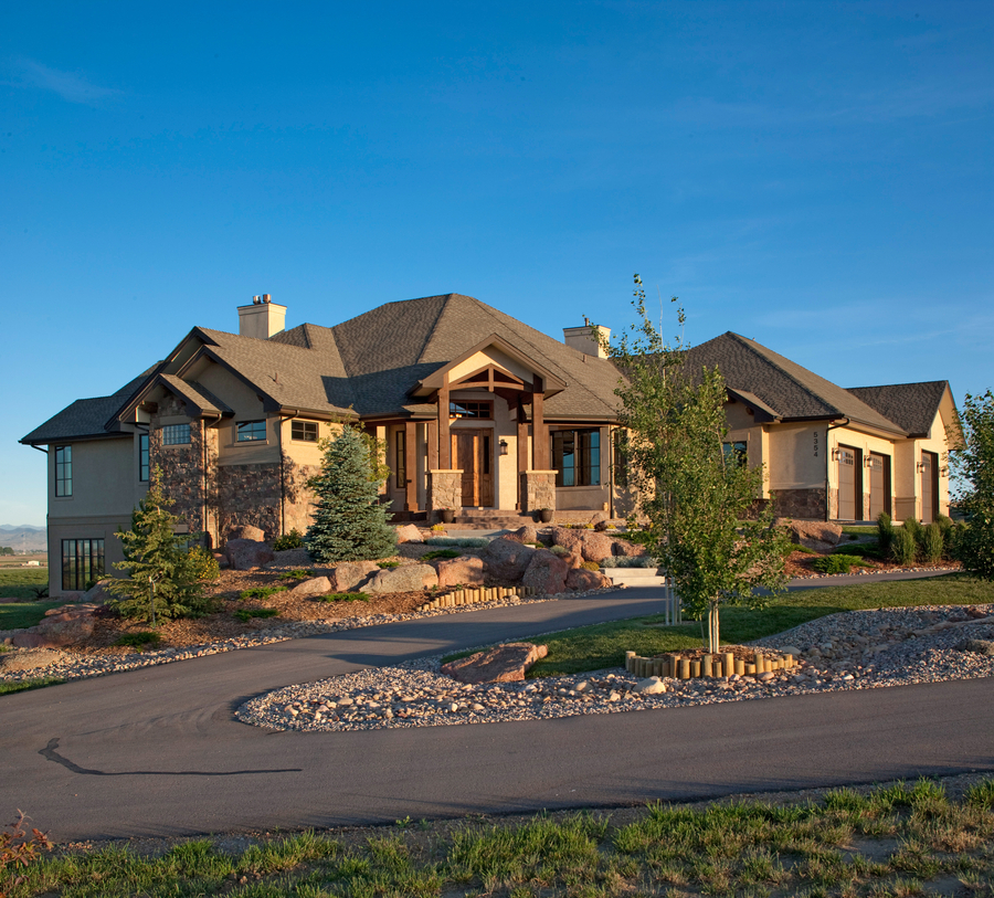 Luxury Ranch Homes: Interesting Angles - 95005RW