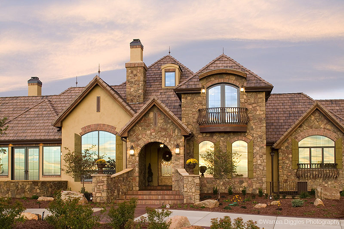 Palatial French Country 9544rw Architectural Designs