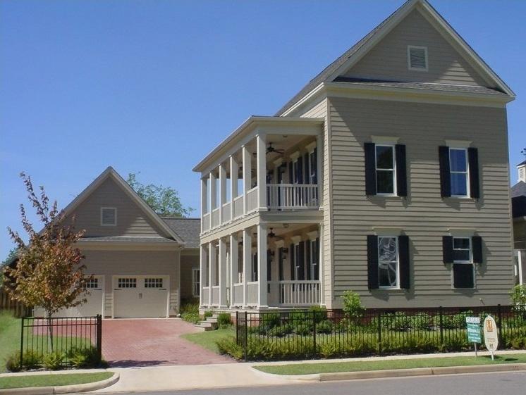 Double decker porch and a detached garage 9729al 1st for Garage plans with porch