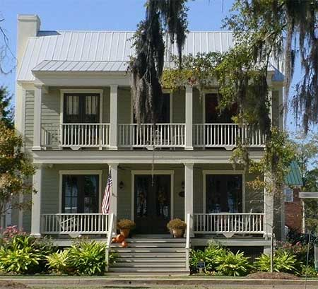 And side porch makes three 9738al plantation southern for Southern home plans designs