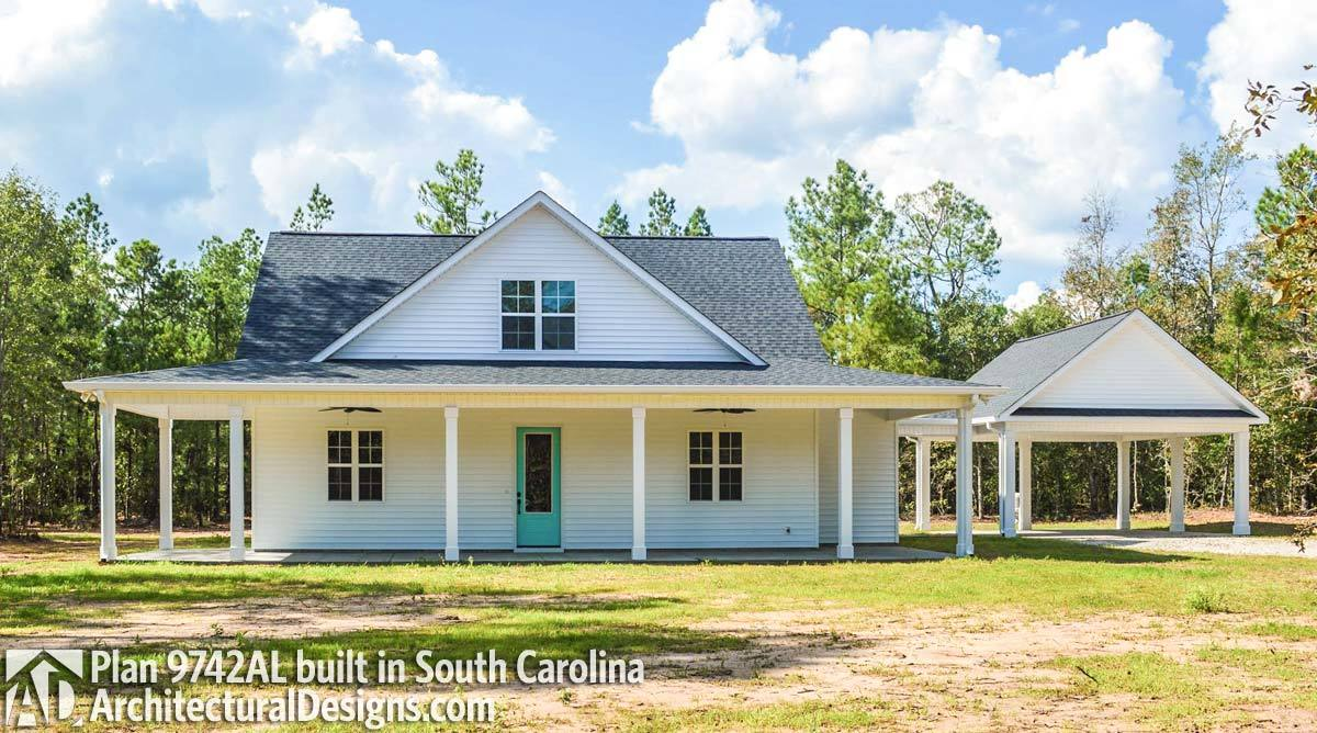 House plan 9742al comes to life in south carolina for House plans south carolina