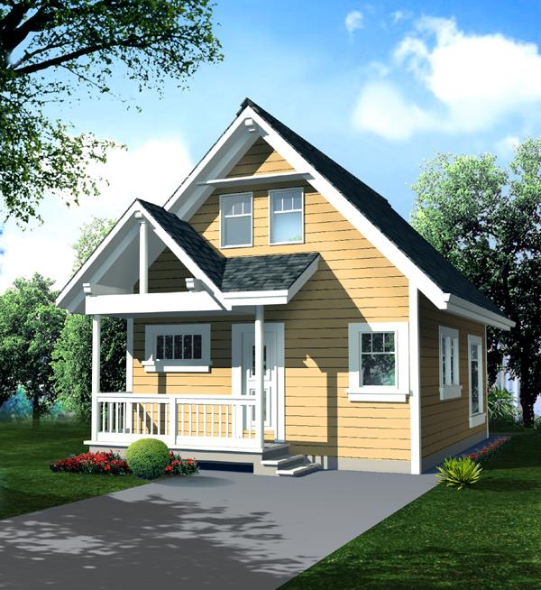 Economical Cottage Design - 9806SW