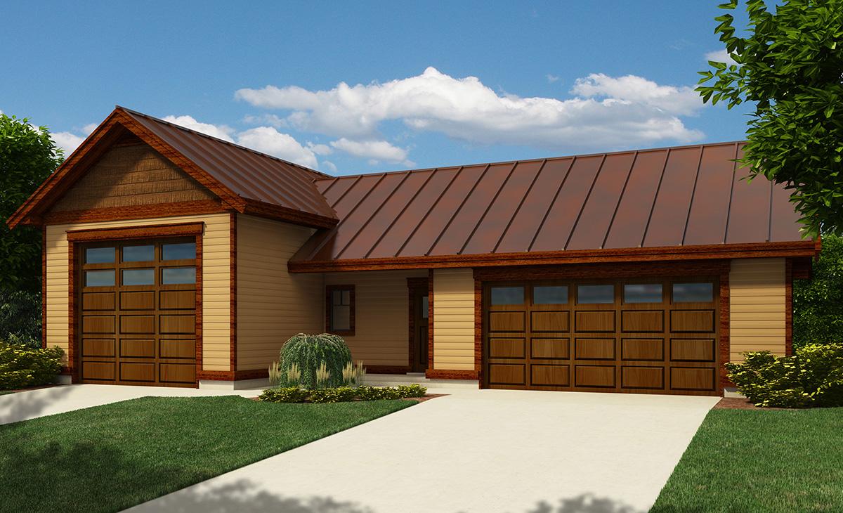 Rv garage with workshop 9829sw canadian pdf for Canadian garage plans