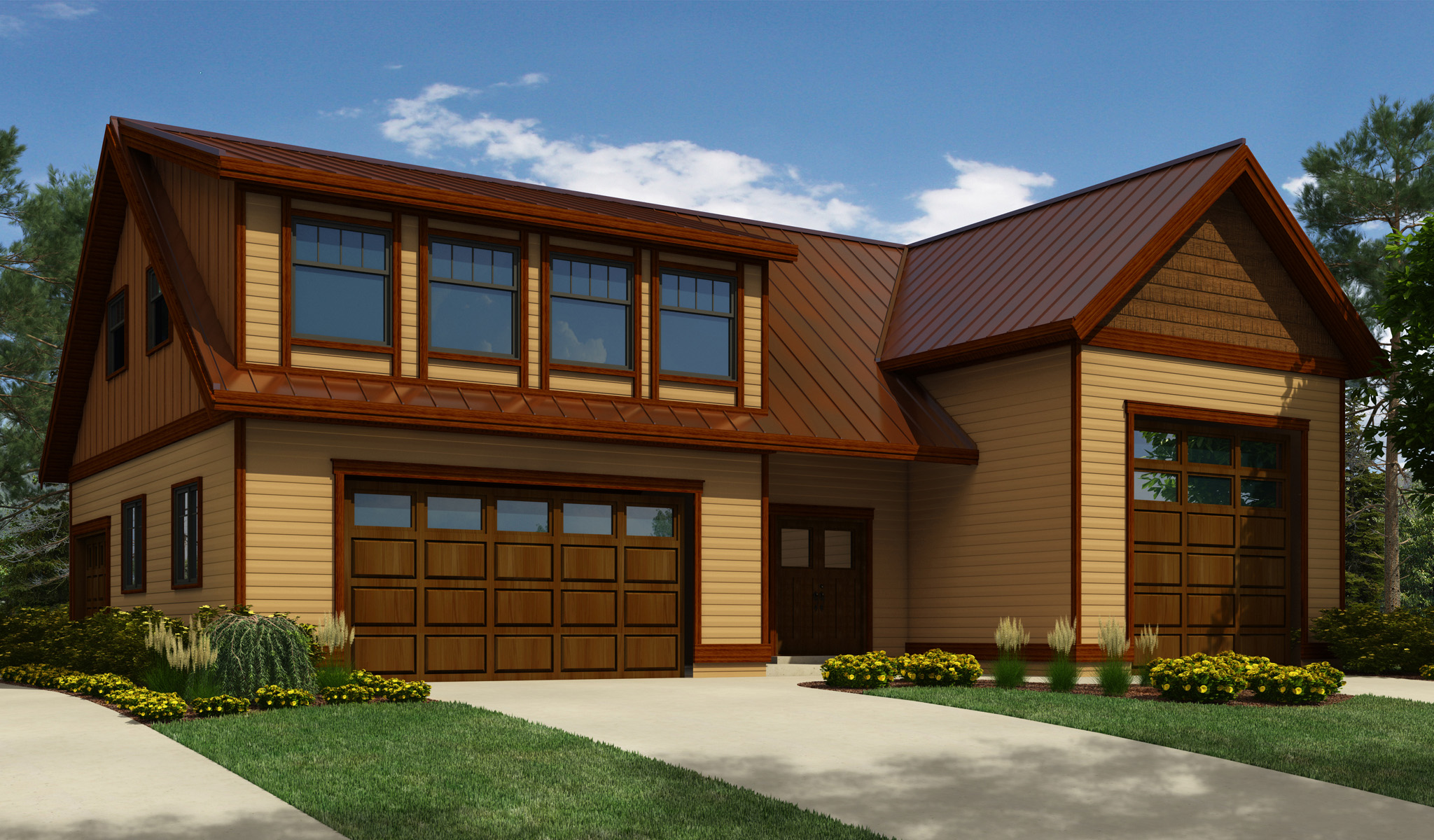 Rv Garage Plans With Apartments: Architectural Designs