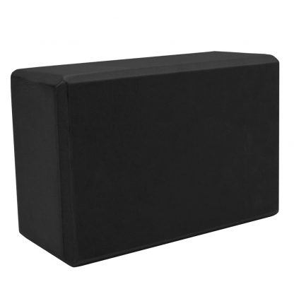 6507 416x416 - Large High Density Black Foam Yoga Block 9 x 6 x 4