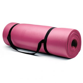 6420 v1 324x324 - 3/8-Inch (8mm) Professional Yoga Mat - Black