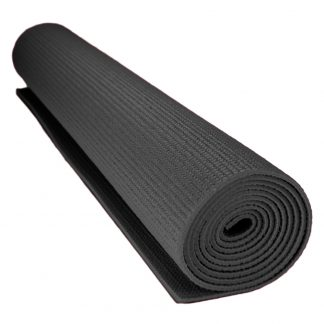 6711 324x324 - 1/8-inch (3mm) Compact Yoga Mat with No-Slip Texture - Black