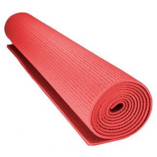 6714 324x324 - 1/8-inch (3mm) Compact Yoga Mat with No-Slip Texture - Red