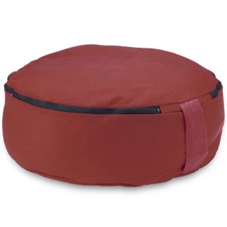 "6757 324x324 - Red 15"" Round Zafu Meditation Cushion"