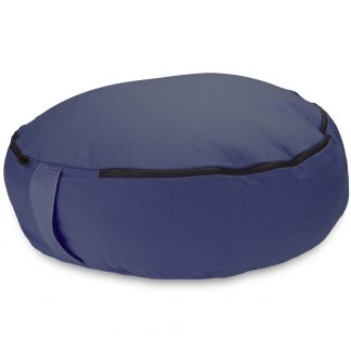 "6760 324x324 - Blue 18"" Round Zafu Meditation Cushion"